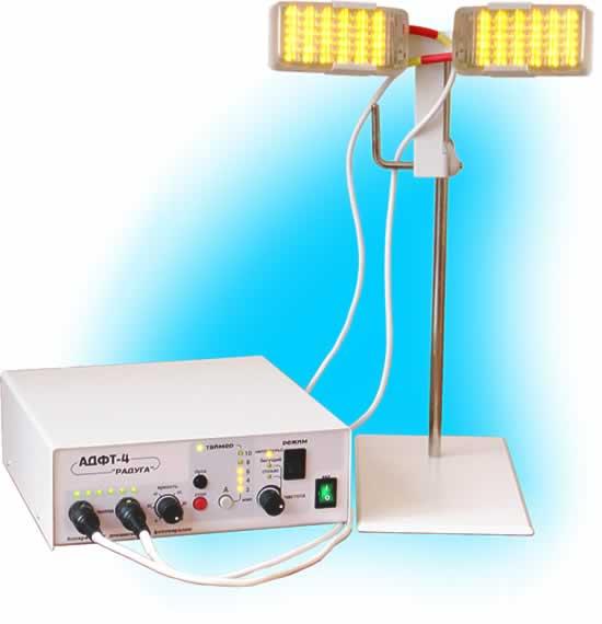 Аппарат АДФТ-4 «Радуга» для динамической фототерапии
