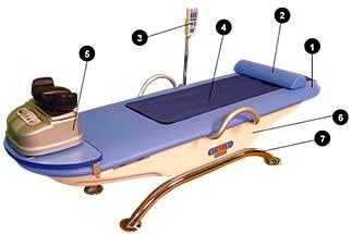 медицинская кушетка для массажа Ормед Релакс