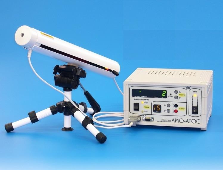 Аппарат магнитотерапии «АМО-АТОС» в комплекте с приставкой «Амблио-1»