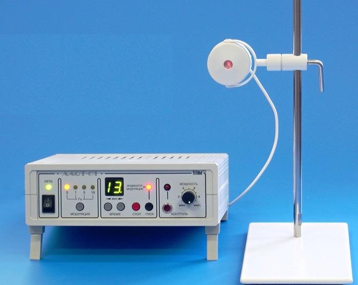 ЛАСТ-01 аппарат  лазеротерапии в офтальмологии