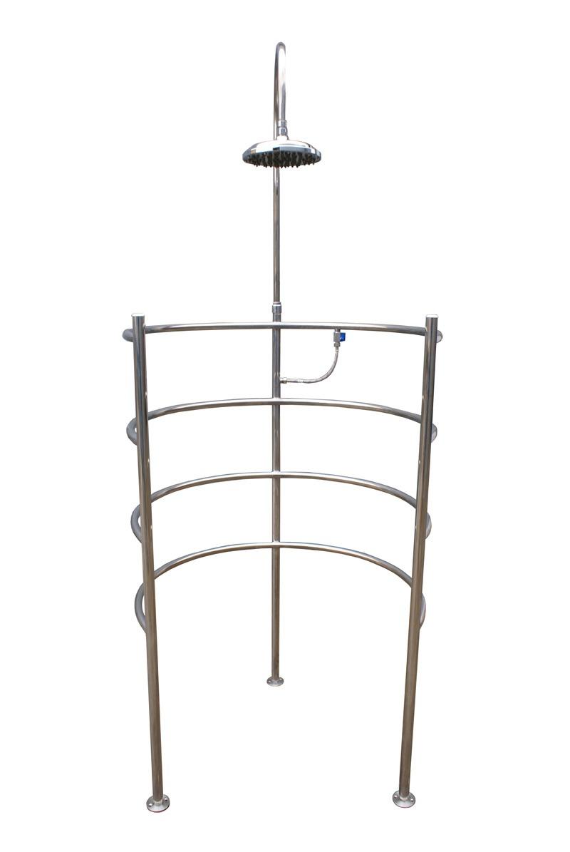 Циркулярный душ Модерн (горизонтально расположенные трубы)