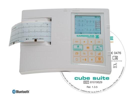 Портативный электрокардиограф Cardioline 3-канальный ar600viewbt