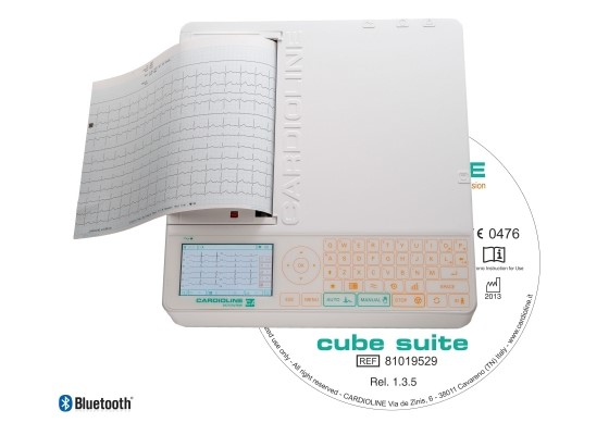 Электрокардиограф Cardioline ar2100viewbt package 12-канальный