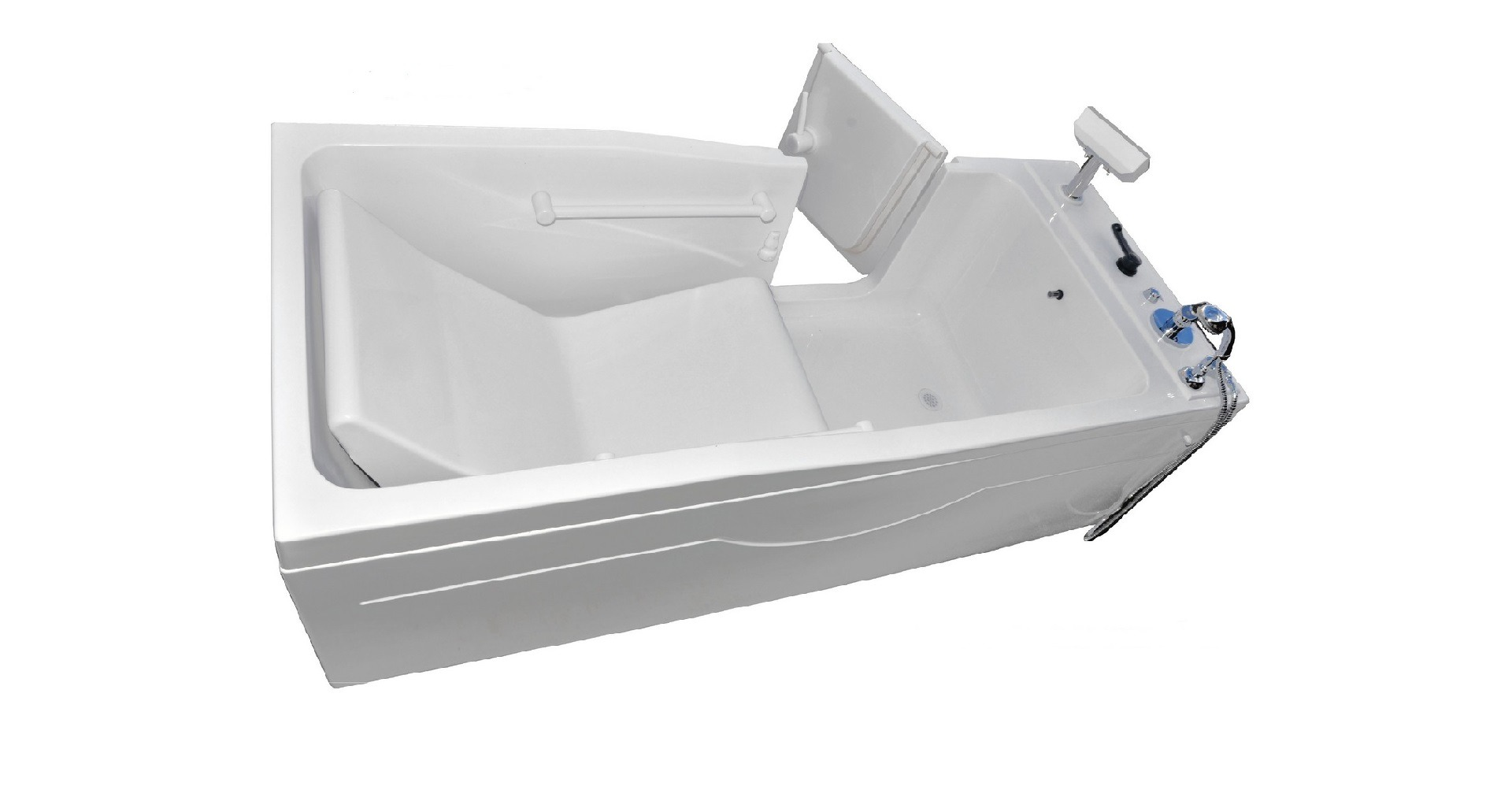 Пароуглекислая ванна «Оккервиль» с дверцей