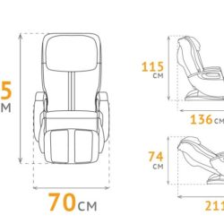 Массажное кресло Anatomico Marco