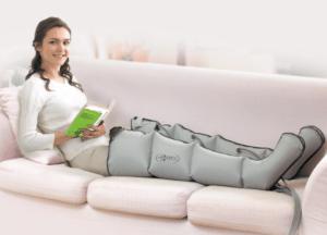 Пневмомассажер для ног для лечения лимфодемы