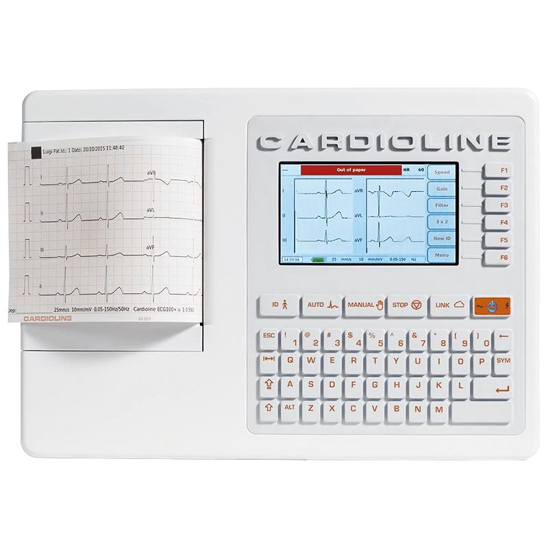 ЭЛЕКТРОКАРДИОГРАФ 3/6 канальный CARDIOLINE ECG100+