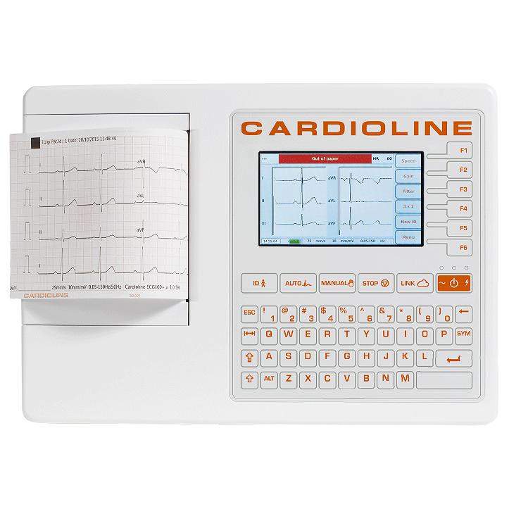 ЭЛЕКТРОКАРДИОГРАФ 3/6 канальный CARDIOLINE ECG-100S