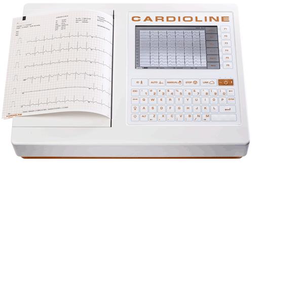 ЭЛЕКТРОКАРДИОГРАФ 12-ти канальный CARDIOLINE ECG-200S